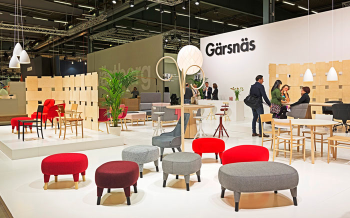 Elsa & Jack by Färg & Blanche for Gärsnäs at Stockholm Furniture Fair 2015