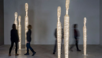 Encontros Light Sculptures by Arturo Álvarez