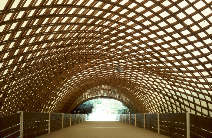 Roof for the Multihalle (multi-purpose hall) in Mannheim, 1970–1975, Mannheim, Germany