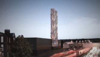Greenwich Peninsula Low Carbon Energy Centre by C.F. Møller Revealed