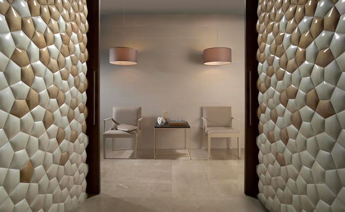 DSIGNIO designs ceramic wall covering for Harmony-Peronda