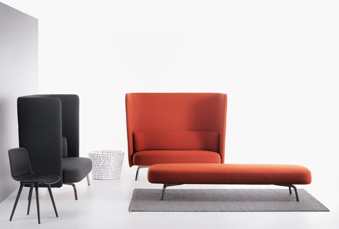 Lammhults introduces a multifunctional sofa system
