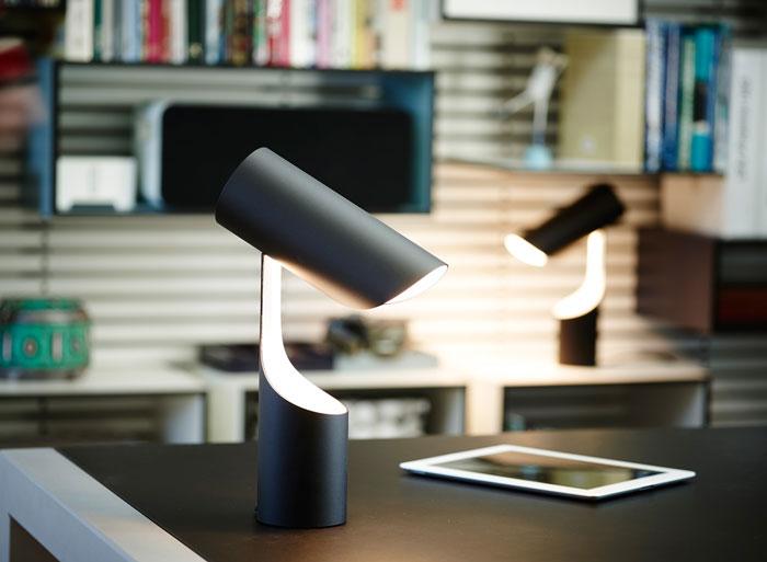 Mutatio Table Lamp by LE KLINT