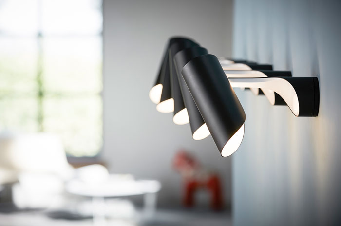 Award winning MUTATIO launched as a wall lamp