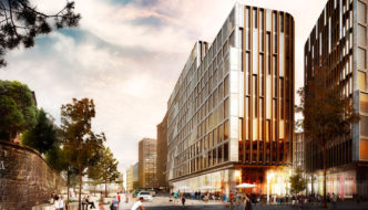schmidt hammer lassen architects wins large project in downtown Oslo