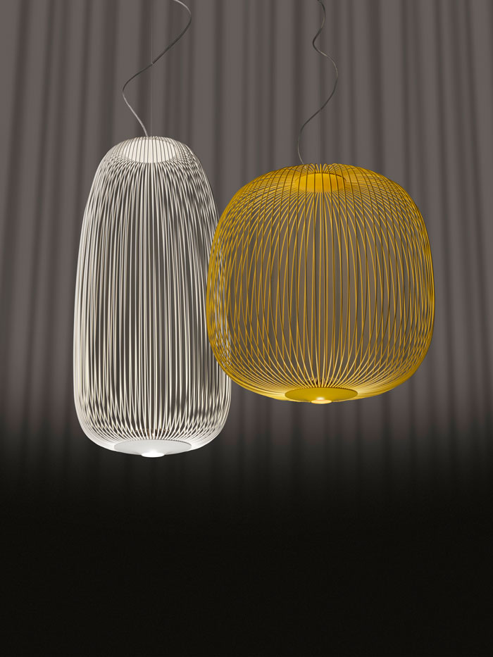 Spokes Pendants by Foscarini