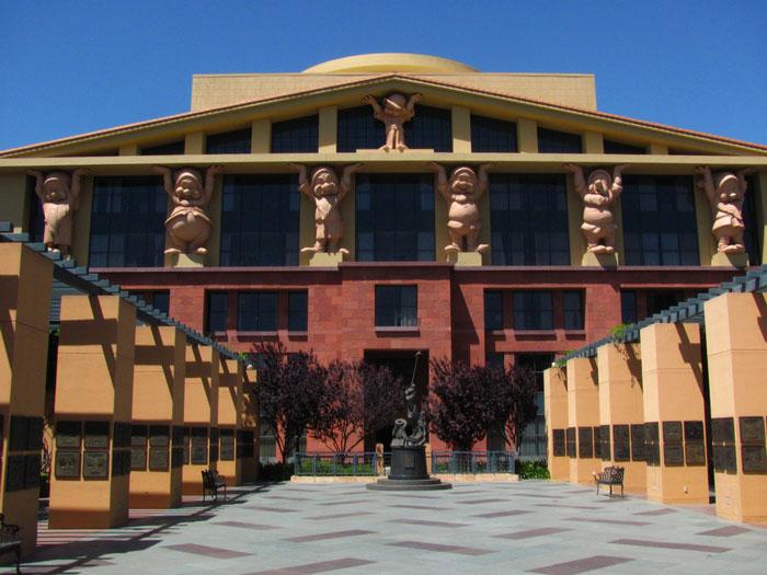 Team Disney Building. Image © Loren Javier