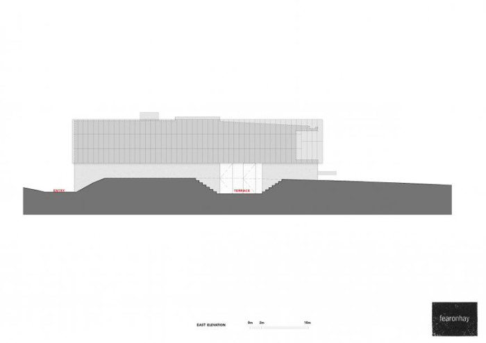 Dune House by Fearon Hay Architects - Elevation