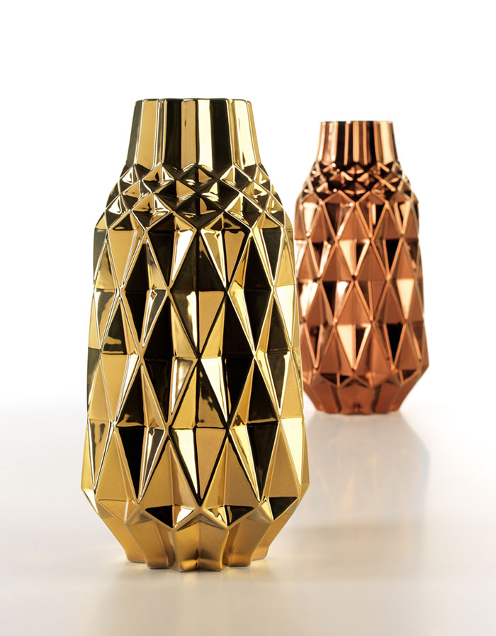Ouro Vase by Home Living Ceramics