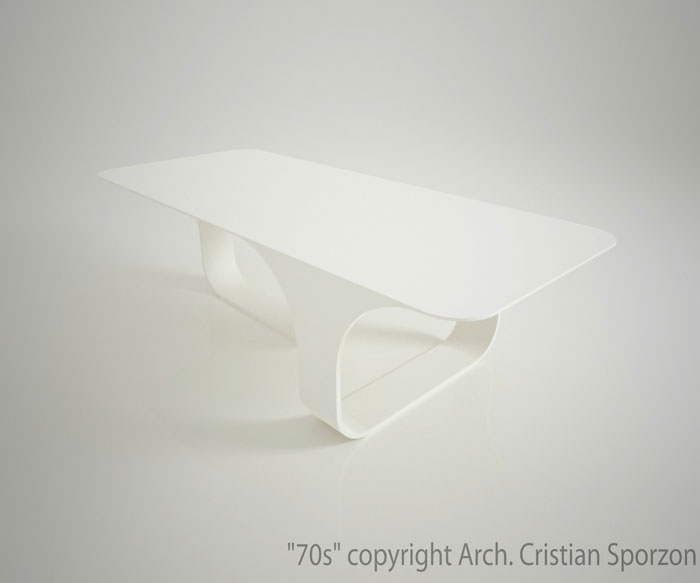 70s Table by Cristian Sporzon
