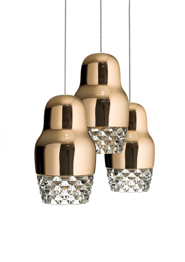 Charming Fedora Suspension Lamp By Dima Loginoff For Axo Light