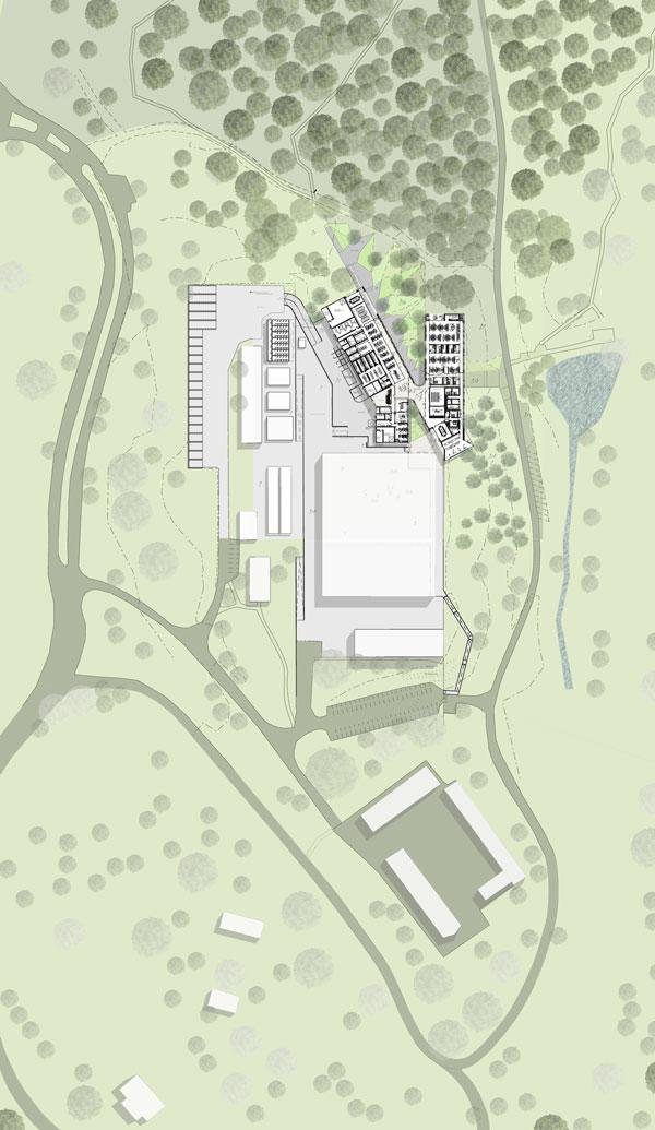 Australian Plant Bank by BVN Donovan Hill - site plan