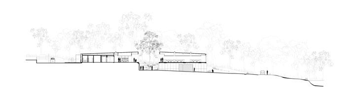 Australian Plant Bank by BVN Donovan Hill - section