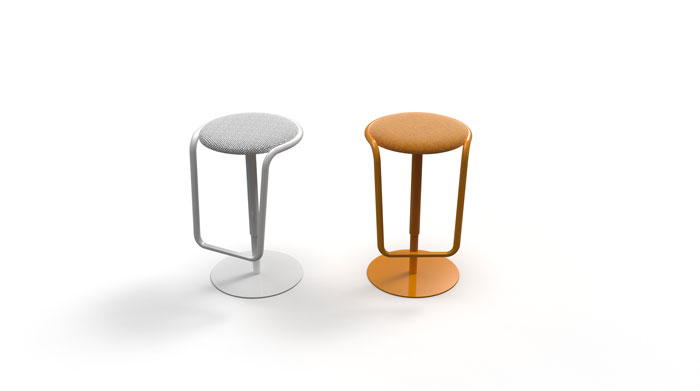 Otto Stool by Crassevig