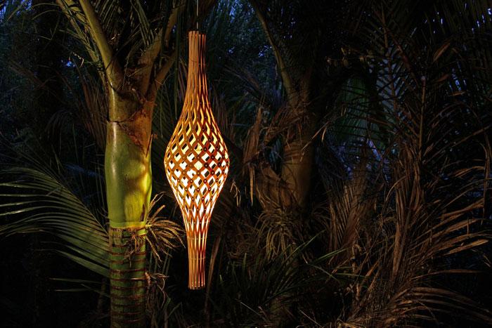 Nikau Pendant by David Trubridge