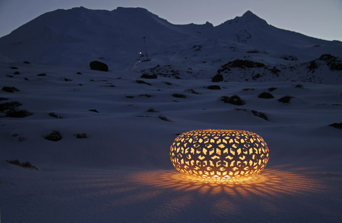 Snowflake Pendant by David Trubridge