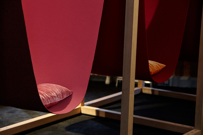 Hypnos: The architecture of sleep Installation by HASSELL and Draisci Studio