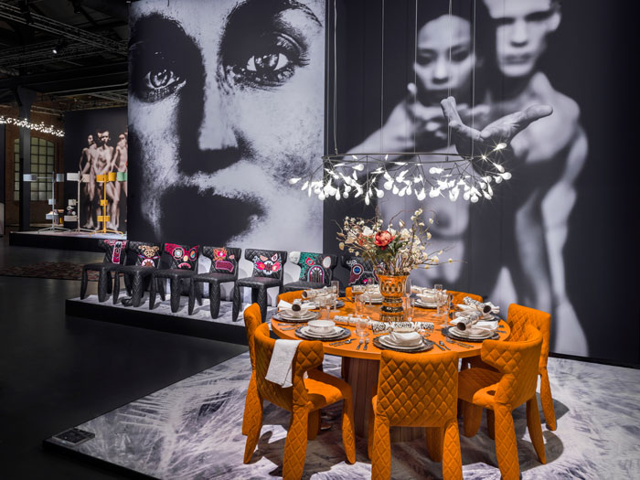 Moooi 2015 new collection presentation at via Savona 56