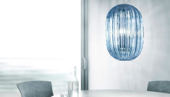 Plass Media Suspension Lamp by Luca Nichetto for Foscarini