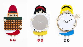 Progetti New Kids Clocks Collection by Hans&Greta