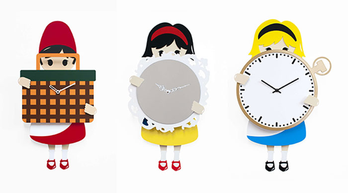 Progetti New Kids Clocks Collection by Hans&Greta
