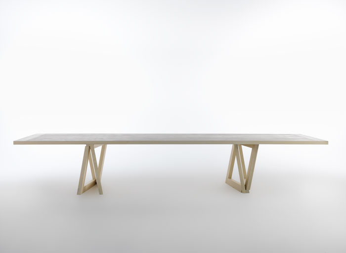 QuaDror03 Long Table by Dror for Horm