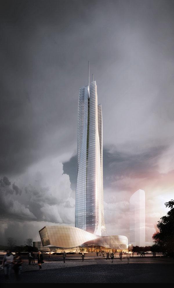 Hengqin International Financial Center by Aedas
