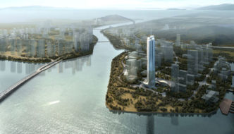 Hengqin International Financial Center by Aedas