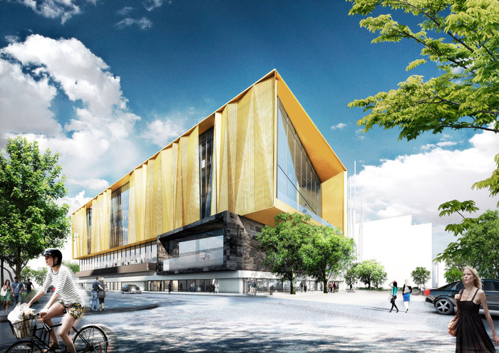 Christchurch New Central Library by schmidt hammer lassen architects