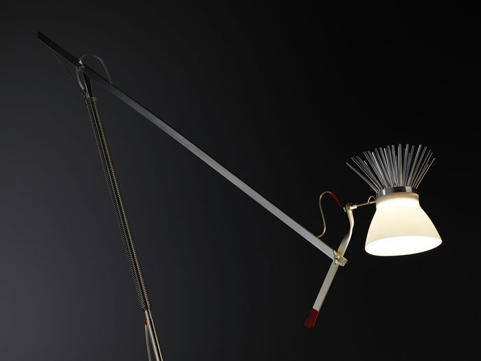 Ingo Maurer creates an edgy new lamp