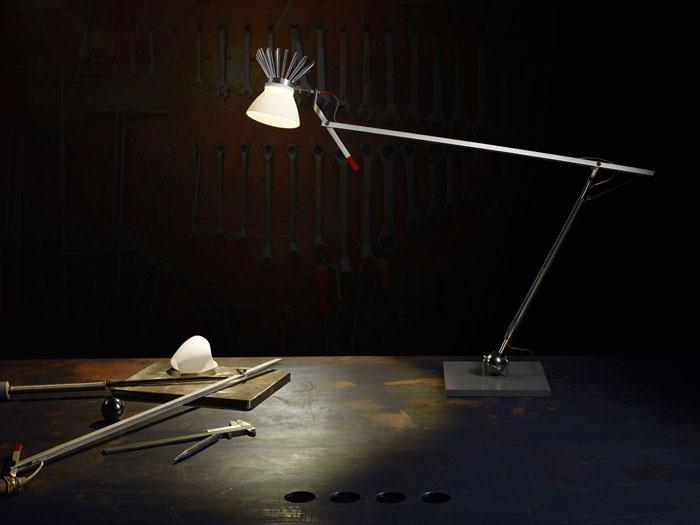 Bastardo Desk Lamp by Ingo Maurer