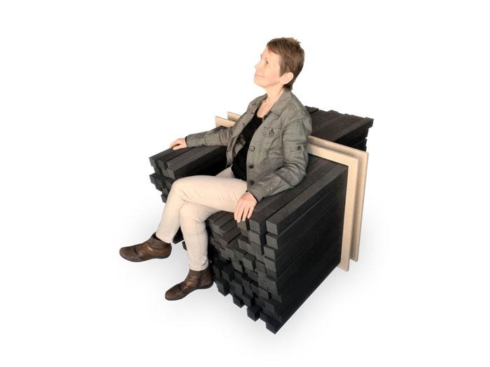 Inside2015 Competition - Public Winner - Emerging talents - Keren Shiker - Sink in adjustable seating