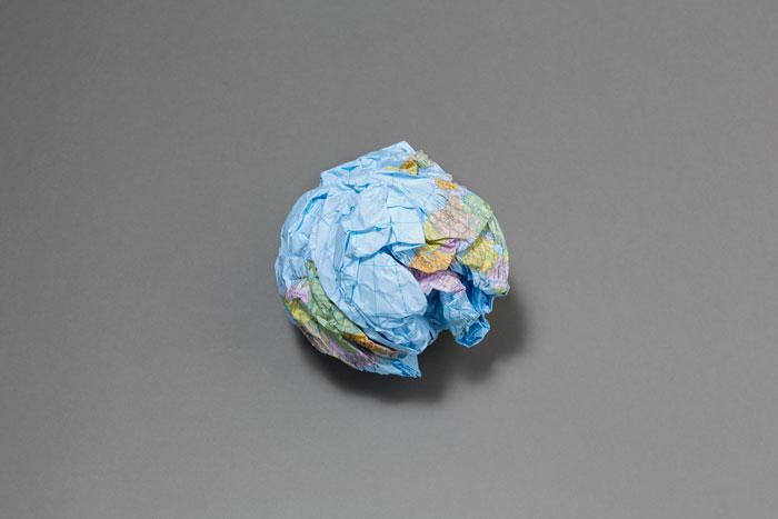 Globus by Latifa Echakhch