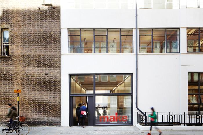 Make Architects unveils its new subterranean studio in London