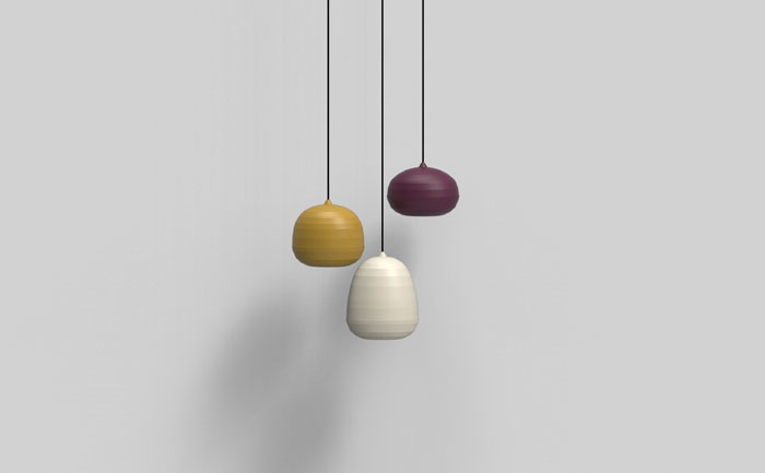 Pomi pendant by Luca Nichetto for Zero Lighting