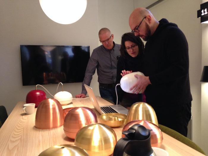 Pomi pendant by Luca Nichetto for Zero Lighting - Prototype
