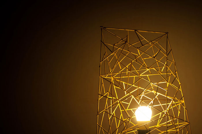 Inside2015 Competition - Public Winner - Emerging talents - Cuong Le - Bamboo lamp