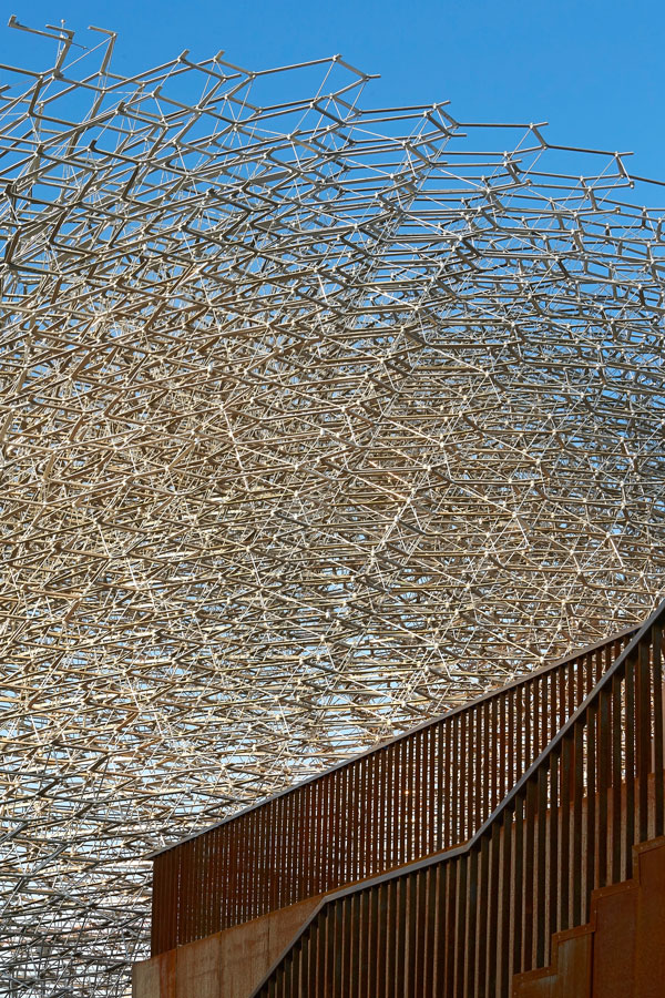 UK Pavilion at Milan Expo 2015 - Hive Structure