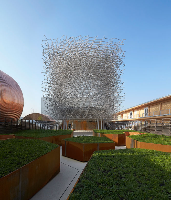 UK Pavilion at Milan Expo 2015 - day view