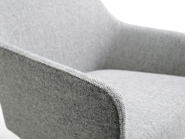 Sketch lounge chair by Arco - detail