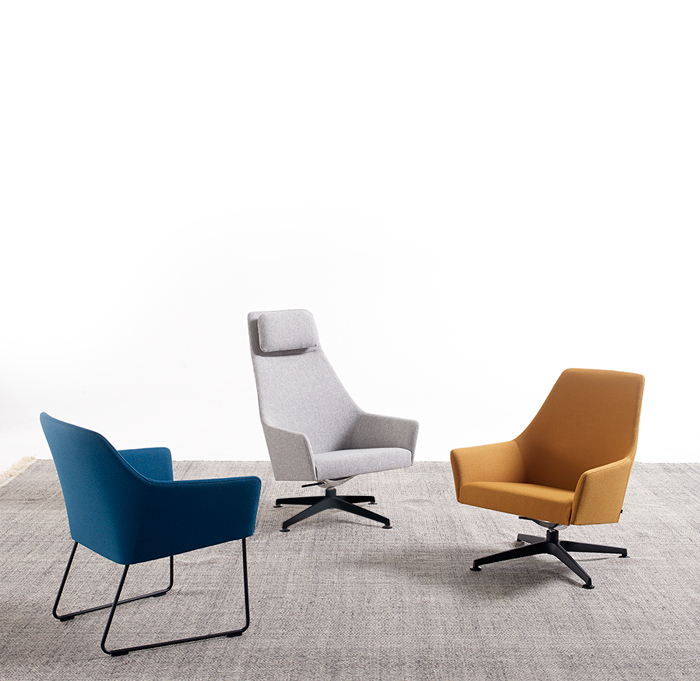 Sketch chairs family by Arco