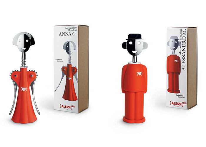 Alessi Partners with (RED) to Support the Fight Against AIDS