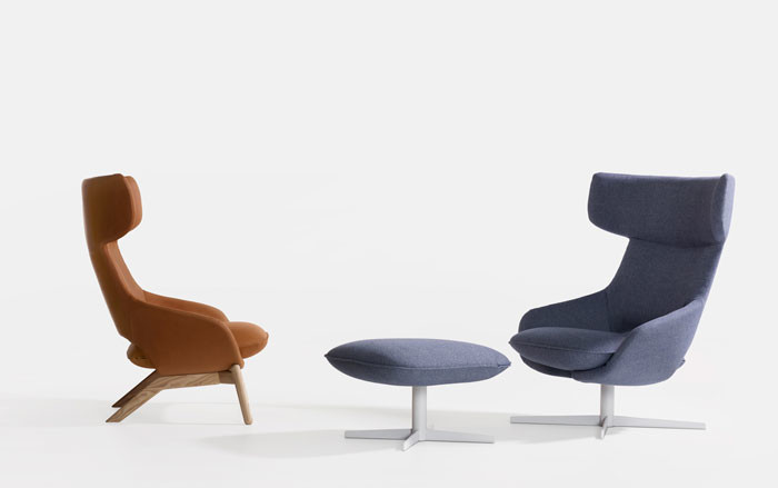 Kalm – new cosy armchair by Patrick Norguet for Artifort