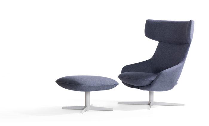 Kalm High Back Armchair by Artifort