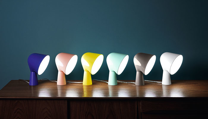Foscarini releases 6 news colours for the popular Binic Lamp