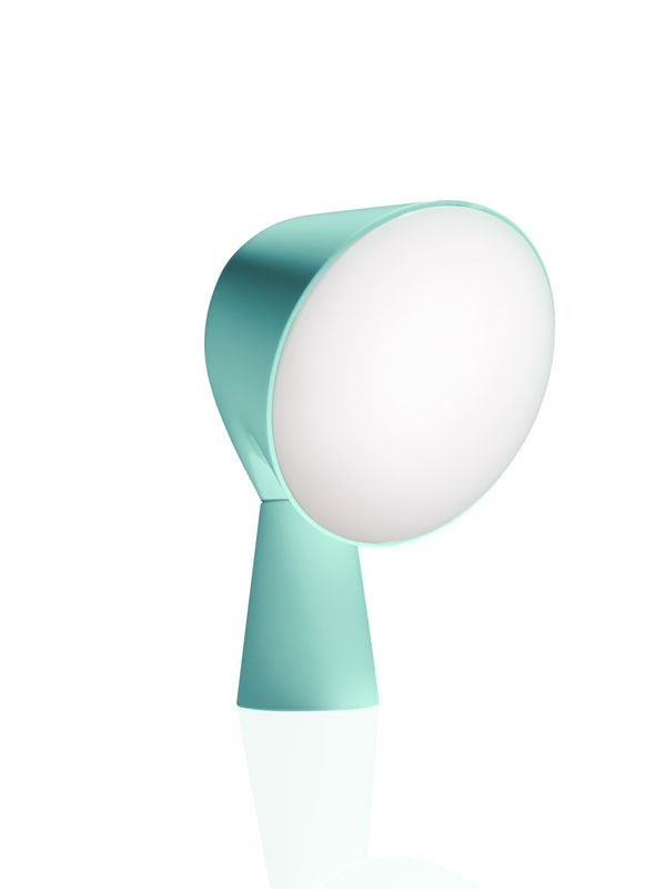 Binic Table Lamp by Foscarini in Aquamarine