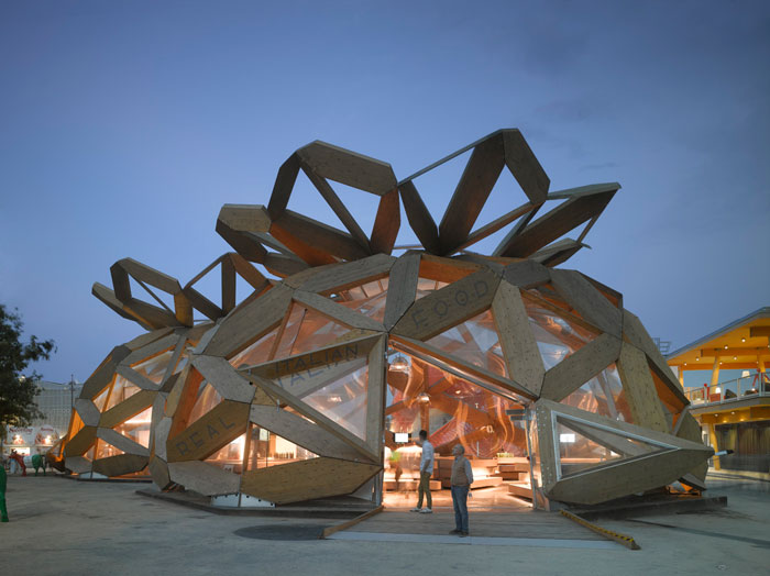 'Love IT' Pavilion for Copagri by EMBT at Expo Milano 2015