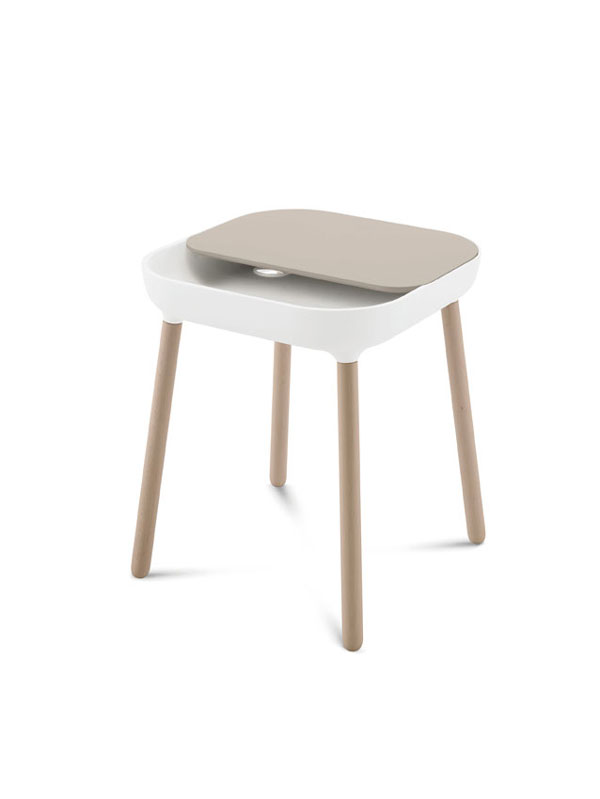 App Side table by Radice Orlandini design studio for Domitalia