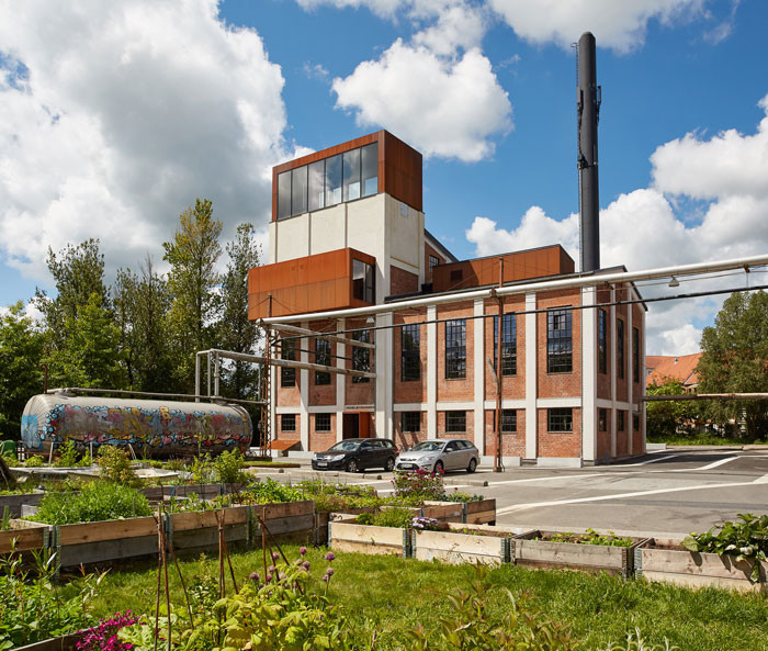 Inauguration of revitalized Boiler Central in Denmark by shl