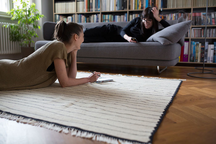 Kobeiagi Kilims brings back traditional hand-woven rugs